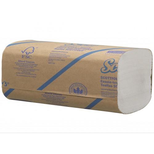 6633 - Kimberly-Clark S FOLD сгънати кърпи за ръце на къс - еднопластови