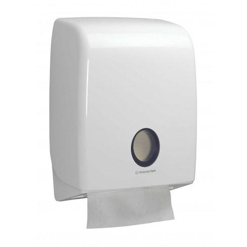 6954-Дозатор Kimberly-Clark AQUARIUS широк за сгънати кърпи за ръце