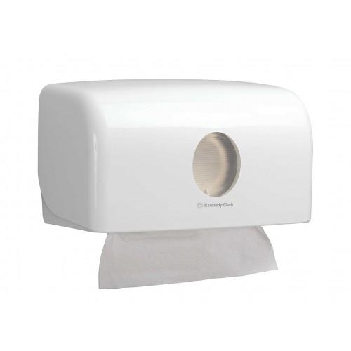 6956 - Дозатор Kimberly-Clark AQUARIUS SLIM за сгънати кърпи за ръце