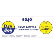 5040-DryJoy - двупластови сгънати кърпи за ръце