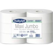 65007- Bulky Soft Comfort Макси джъмбо тоалетна хартия на ролка